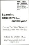 Learning Objectives... And Beyond (book cover)